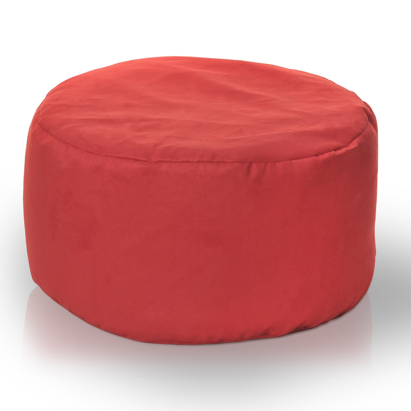 pouf sitting filled with styrofoam balls 40x65cm ebay. Black Bedroom Furniture Sets. Home Design Ideas